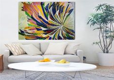Colored fan   Etsy Good Luck New Job, Dear Friend, Good People, My Works, Tapestry, Japanese, Abstract, Handmade, Pictures