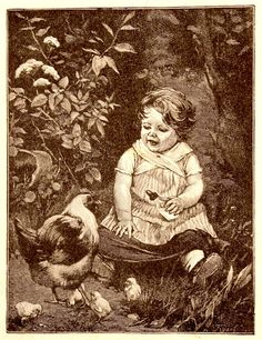 Pails of Paint: Vintage Baby Illustrations