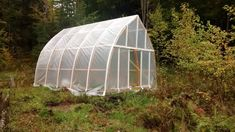 Hoop/quonset hut type building for temporary living structure (natural building forum at permies)