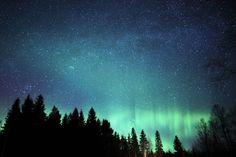 Norrsken i västernorrland. Beautiful World, Beautiful Places, Jonna Jinton, Walk Out The Door, Sky Full Of Stars, Outside World, Aurora Borealis, Sweden, Northern Lights