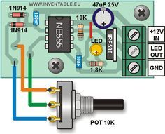 Electrical and Electronics Engineering: 555 Regulator circuit! Electrical and Electronics Engineering: 555 Regulator circuit! Electronic Kits, Electronic Circuit Projects, Electronic Schematics, Electrical Projects, Electronic Engineering, Electronics Projects, Hobby Electronics, Electronics Components, Electronics Gadgets