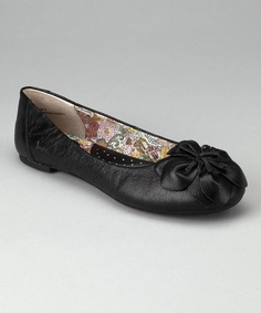 Take a look at this Black Oriana Ballet Flat by b.o.c by Born on #zulily today!