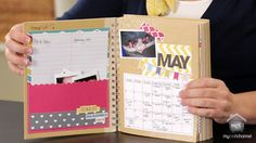 """WORK-ALONG-WORKSHOP: FANCY PANTS PART 2 Join us today for the SECOND part of our first 4 part """"Work-along-Workshop"""". We have teamed up with Jodi from Fancy Pants to create this darling day planner style On the Go Brag Book. Whether you purchased the actual kit or you are going to use your stash of products, you can follow along for FREE. In today's episode you'll decorate the cover of your new On the Go Brag Book. #mycraftchannel #workalongworkshop #fancypants"""