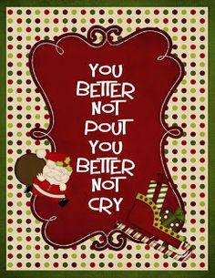 Giggle and Print: 4 Free Adorable Christmas Printables Very Merry Christmas, 12 Days Of Christmas, Christmas Wishes, Christmas Art, Christmas Projects, Christmas Holidays, Christmas Decorations, Xmas, Christmas Ornaments
