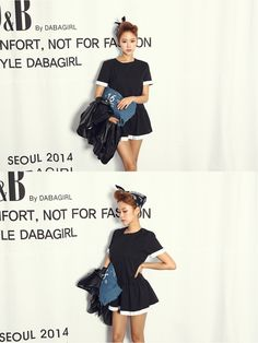 Mini Black Dress  #dress #kooding