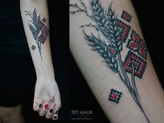 Tattoos. Spring-Summer 2014 by Teti Malik, via Behance