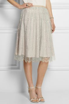 J.Crew | Collection tulle midi skirt | NET-A-PORTER.COM