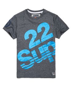 Superdry Sup T-Shirt Marineblau