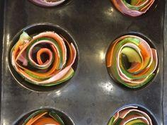 Roulade de légume au jambon