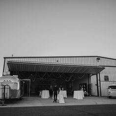 Indie fashion photographer @chantelmarie caught some incredible shots from this airplane hangar wedding!   : @chantelmarie   #photoboothbus #photobus #vwphotobooth #utahwedding