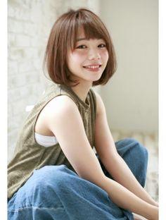 【joemi】小顔クラシカルモードボブ×ミルクティーカラーファム