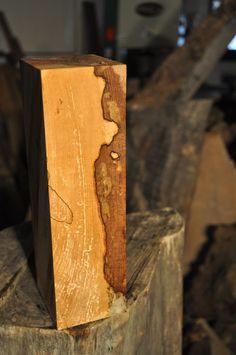 "Big Leaf Maple Carving Blank/Bowl Blank/Turning Stock 10.125"" x 3.375"" x 3"""