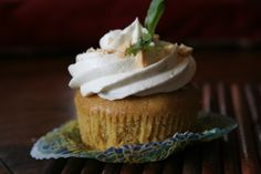 Coconut curry cupcakes.