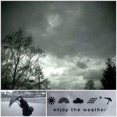 Enjoy the weather!! #senz #senzstormumbrella