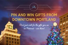 """Pin and Win gifts from Downtown Portland this holiday! There's some great prizes up for grabs.    Designer dresses, glittering jewels, handcrafted art... This season, don't just wish for the gifts you see on Pinterest – win them from Downtown Portland. Create """"Downtown PDX Wish List"""" board of your own and repin at least 6 prizes from our wish list board below. And as a final touch fill out an entry form on our Facebook page at Facebook.com/DowntownPortland"""