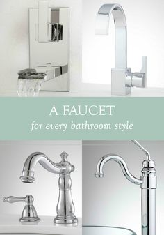 Genial Give Your Homeu0027s Hardware A Quick Facelift With A New Bathroom Faucet.  Whether Youu0027