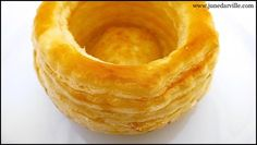 Vol Au Vents: how to make these famous puff pastry cups? I'll show you!