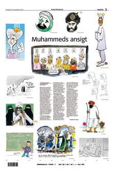 September 30, 2005 - The Danish Jyllands-Posten publishes twelve satirical political cartoons picturing the islamitic prophet Muhammad. The publishing led to a huge controversy because it is considered highly blasphemous in most Islamic traditions to make a picture of the prophet Muhammad. The controversy led to riots resulting in over 100 deaths all around the world. #history #cartoon #riot #Muhammad