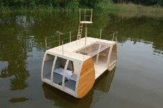 PREFAB & SMALL HOMES — Floating House by Architect Marijn Beije