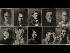Tintype Portraits of Celebrities at the Sundance Film Festival