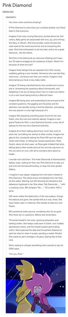 Somehow they found a way to make me have Diamond Authority feels