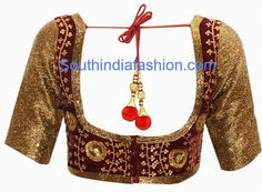 ★ Fiery Red ★ velvet blouse designs https://www.facebook.com/jaison.sn/posts/1592586457644587