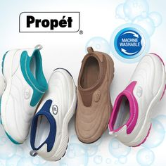 Love to travel? Pack Propet Elite for your next trip. From Propet@FootSmart, these slip-ons with enhanced OrthoLite cushioning are lightweight, perfect for long days of sightseeing from the Big Apple to Big Ben and beyond.