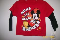 New Disney Mom's LI'L Heart Breaker