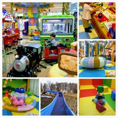 Sweets Fantasy Pacc'n play center in Family Friendly local mall Peony Walk | HIGASHIMATSUYAMA