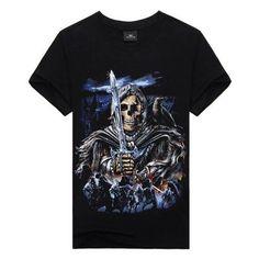d15aac293 Skull vintage variations men t-shirt harley biker rider chopper tees m -  3xl…