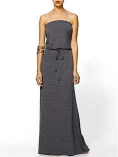 Hive & Honey Strapless Knit Maxi Dress | Piperlime