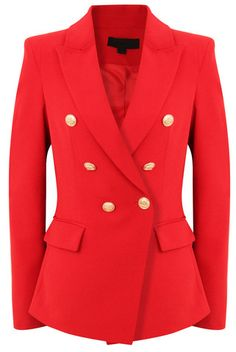 RED DOUBLE BREASTED TAILORED BLAZER JACKET  https://www.cococouture.co.uk/?afmc=jowhitter