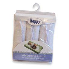 Boppy® Waterproof Changing Pad Liners (3-Pack) $12.99