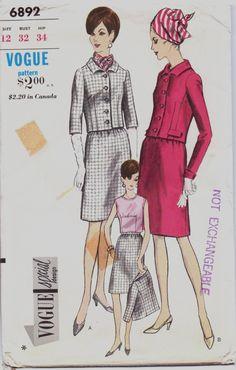 Vintage 60s Vogue Special Design Pattern 6892 by CloesCloset, $21.00