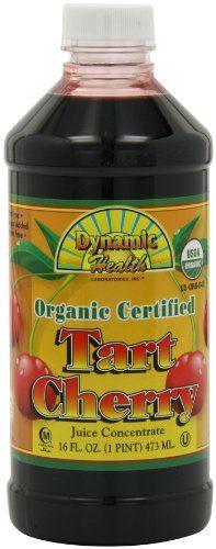 Dynamic Health Black Cherry Juice Concentrate 8 Fl Oz