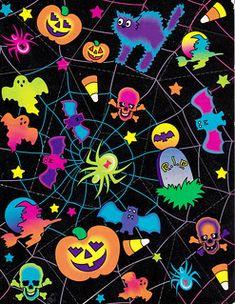 Halloween 4, Halloween Goodies, Halloween Stickers, Halloween Horror, Lisa Frank, Vinyl Projects, Art Projects, Resin Crafts, Pattern Wallpaper