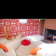 Conversation pit straight from the 70's
