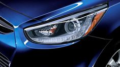 2014 ACCENT PROJECTOR HEADLIGHTS WITH LED ACCENTS