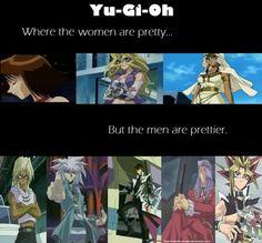 Yu-Gi-Oh! [ Bahaha! How true! ]