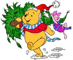 Winnie the Pooh and Piglet Christmas PNG Clip Art Image Winnie The Pooh Christmas, Christmas Puns, Disney Christmas, Christmas Clipart, Christmas Stocking, Merry Christmas, Xmas, Winnie The Pooh Quotes, Disney Winnie The Pooh