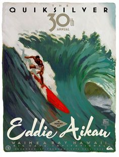 The competitors for this year's Quiksilver In Memory of Eddie Aikau surf competition was announced Monday morning.