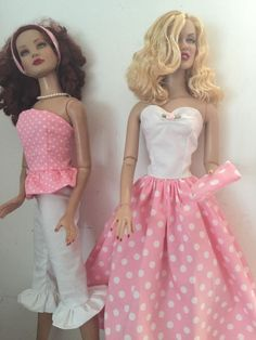 "Pretty Dress Capri Ruffles  Summer Outfit 4 22"" Tonner Doll Marilyn Monore #handmade"