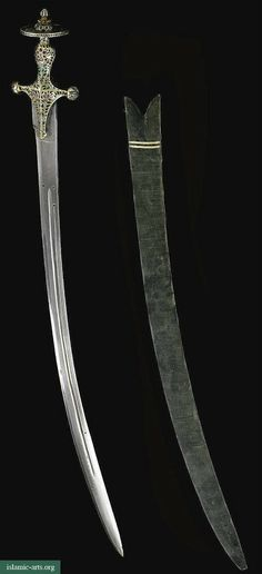 A JEWELLED SWORD TALWAR, RAJASTHAN, INDIA, EARLY 19TH CENTURY