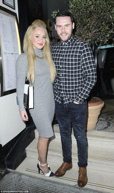 Danny Miller & girlfriend Kirsty Leigh Porter