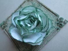 Скрапбукинг / Ажурная роза / Цветы из бумаги своими руками / openwork ro...