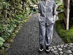 Cool loung wear from HOSHINOYA Kyoto