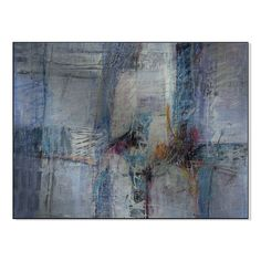 Gallery Direct Blue Intersection Print by Shirley Williams on Mounted Wall Art