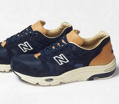 Beauty & Youth x New Balance 1700 – Navy / Brown