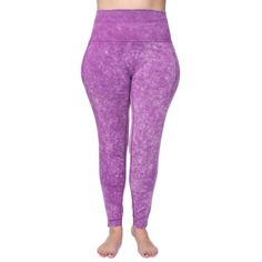 38696118c6 Plus Size Under Control Women's Plus Active Seamless Acid Wash High Impact  Fitness Legging with Stretch