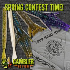 Spring Contest Time with Gambler Lures